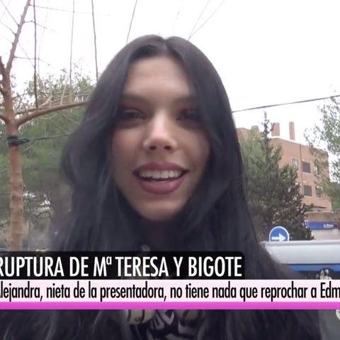 Alejandra Rubio habla sobre Edmundo Arrocet