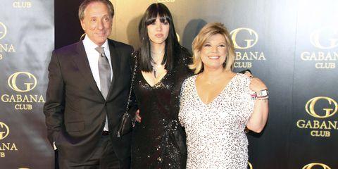 Alejandra Rubio con Terelu Campos y Alejandro Rubio