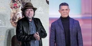 Joaquín Sabina y Alejandro Sanz