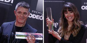 Alejandro Sanz Aitana ganadores premios Odeón 2020