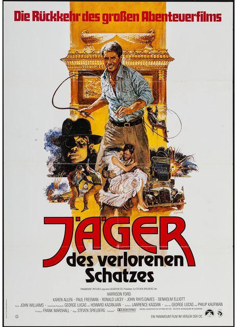 Posters originales de Indiana Jones