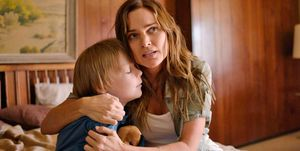 Escena del telefilme 'Alerta Amber: Huida hacia la vida'