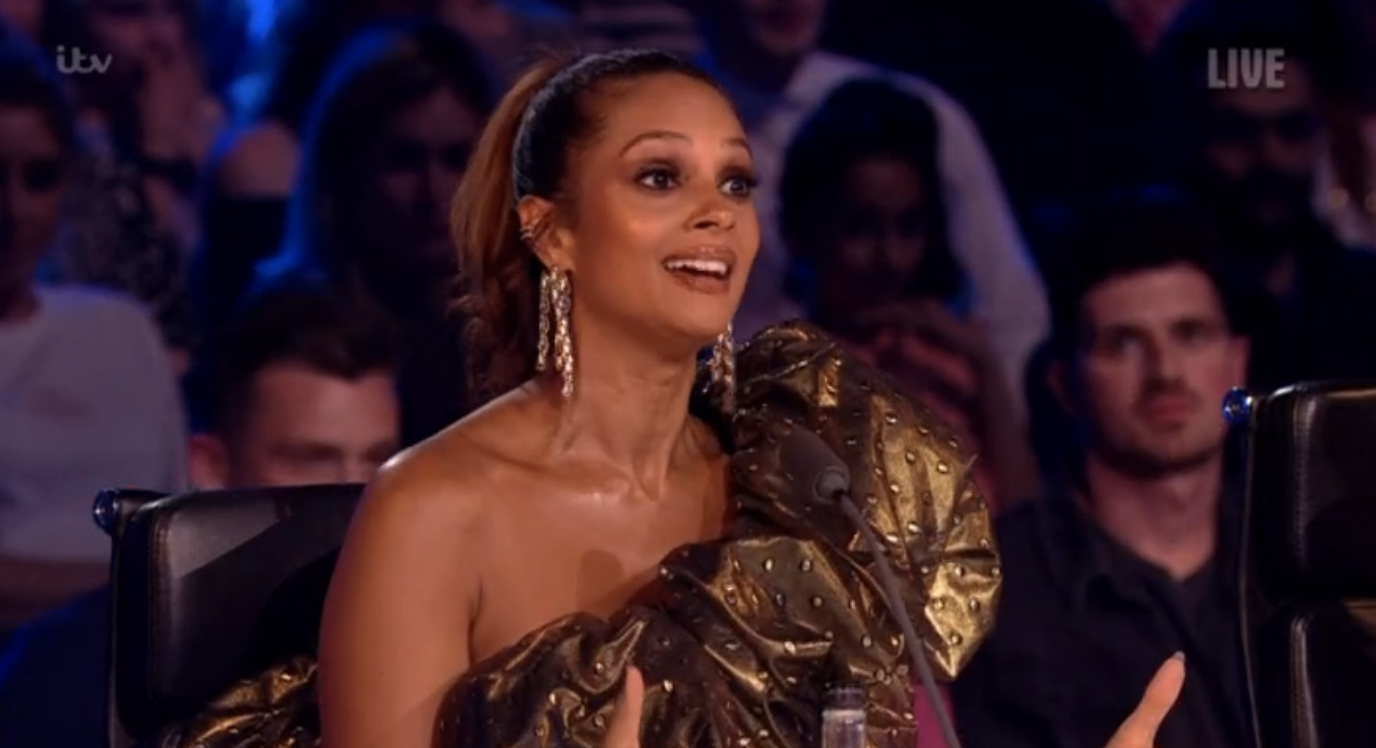 Britain's Got Talent judge Alesha Dixon reveals the name and first picture of her newborn daughter