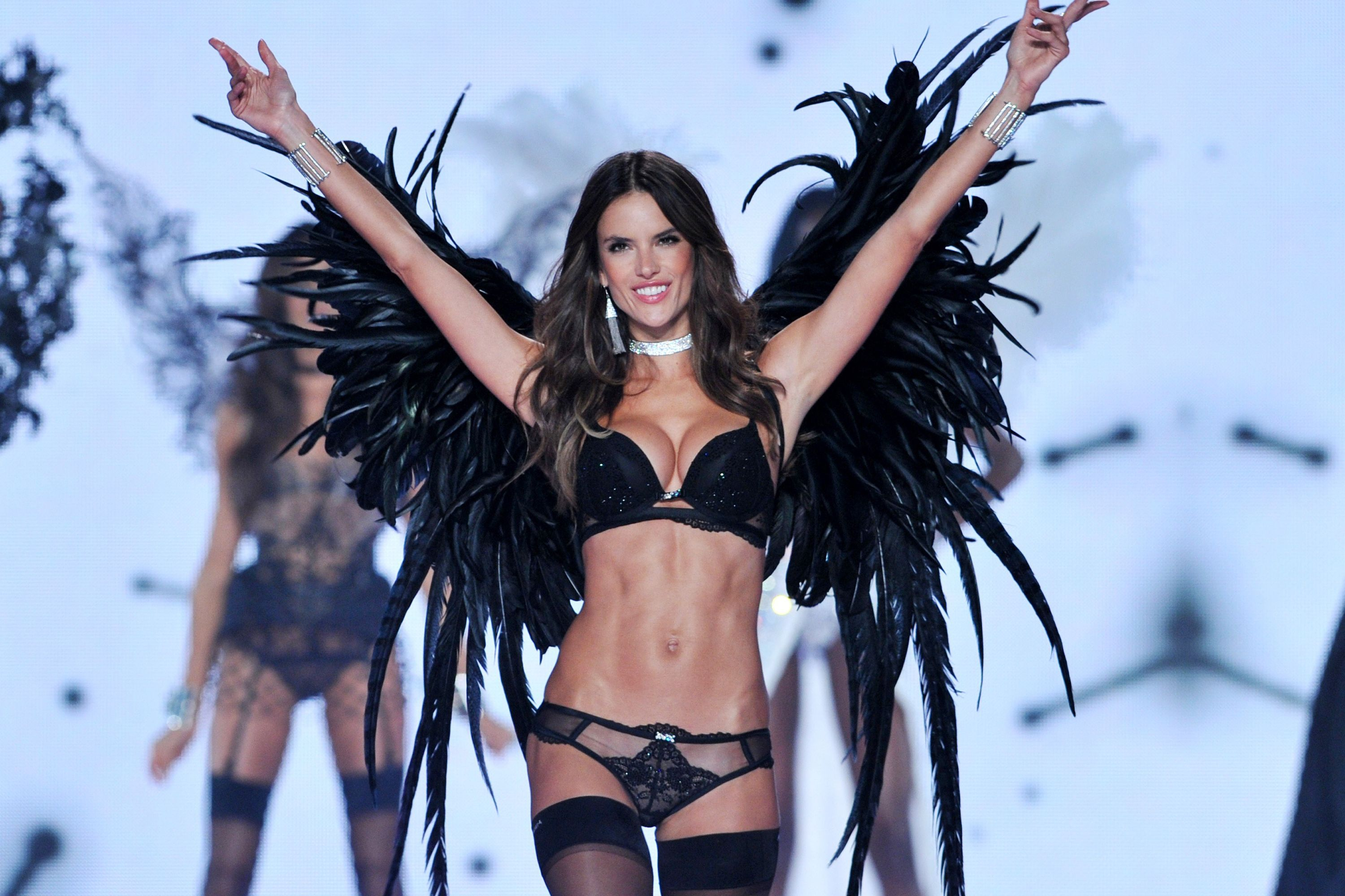 913cf66a77c Alessandra Ambrosio on what it really takes to train for the 2017 Victoria s  Secret show