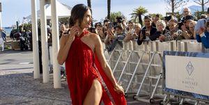 Alessandra Ambrosio en Cannes 2019.