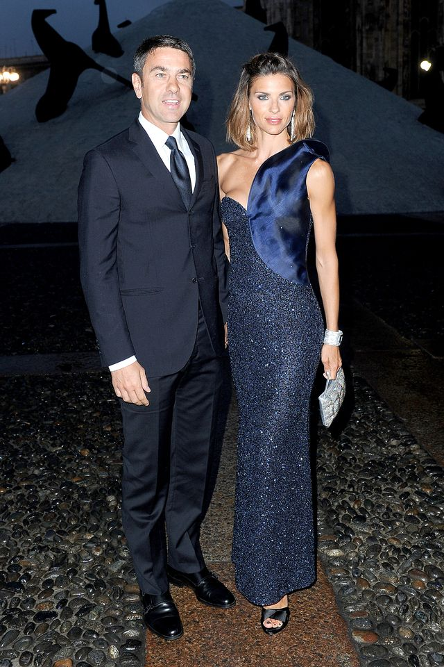 alessandro costacurta and martina colombari attend the swarovski fashionation  at palazzo reale on june 7, 2011 in milan, italy photo by jacopo raulewireimage