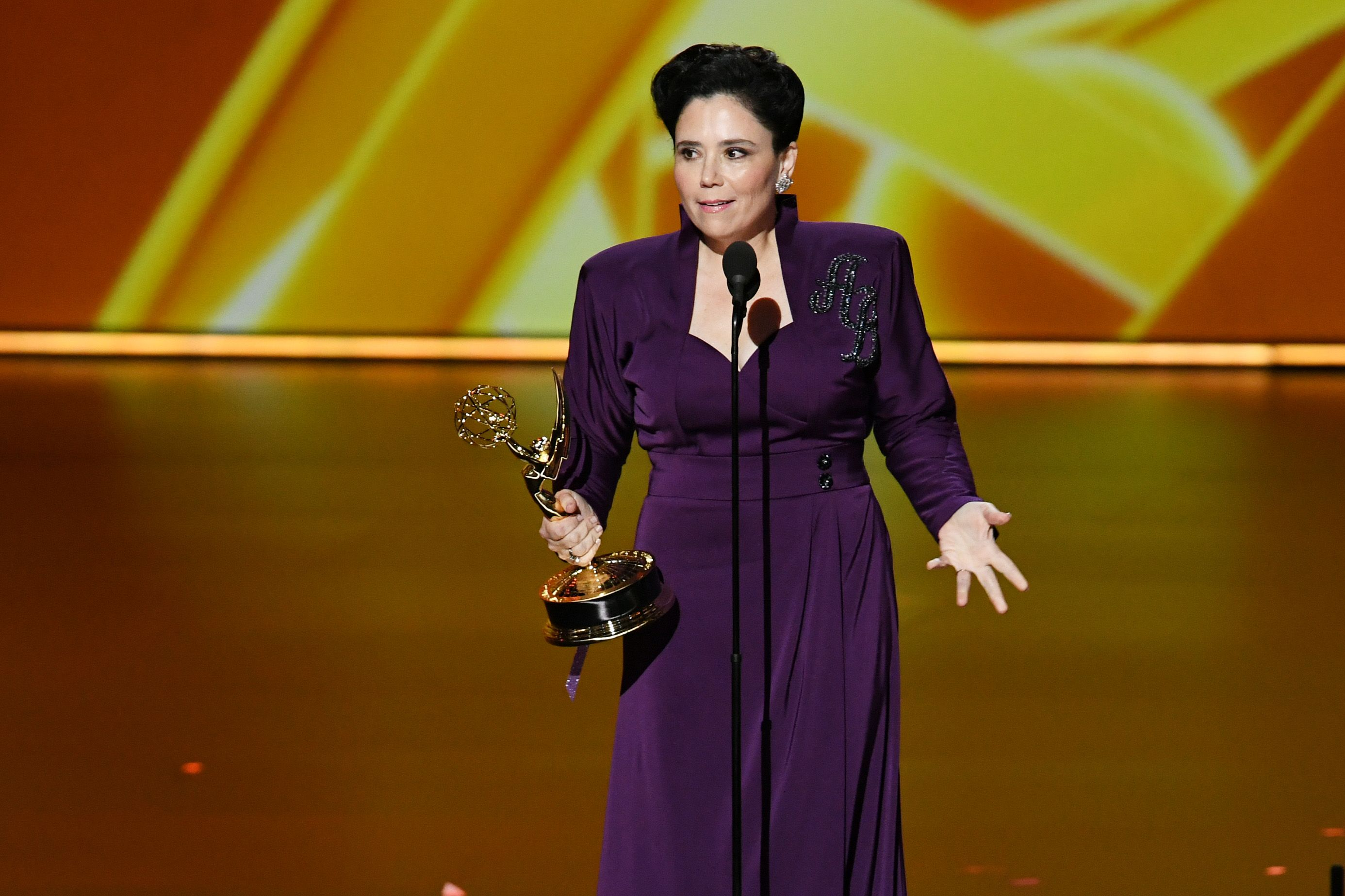 Alex Borstein Set the Emmys Bar High With Her 'Step Out of Line' Speech