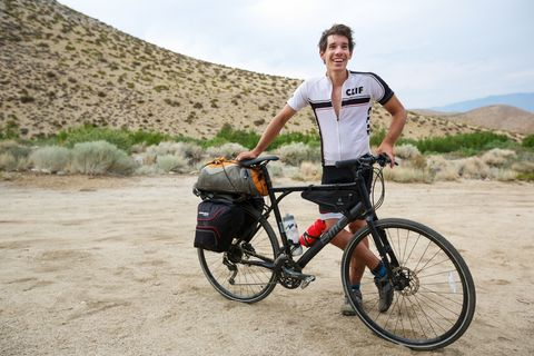 'Free Solo' Star Alex Honnold Has Biked Hundreds of Miles Between Climbs