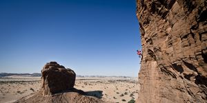 Climbers Take On Desert In Chad