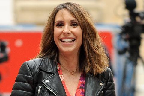 alex jones reveals the tv show that made her go into labour