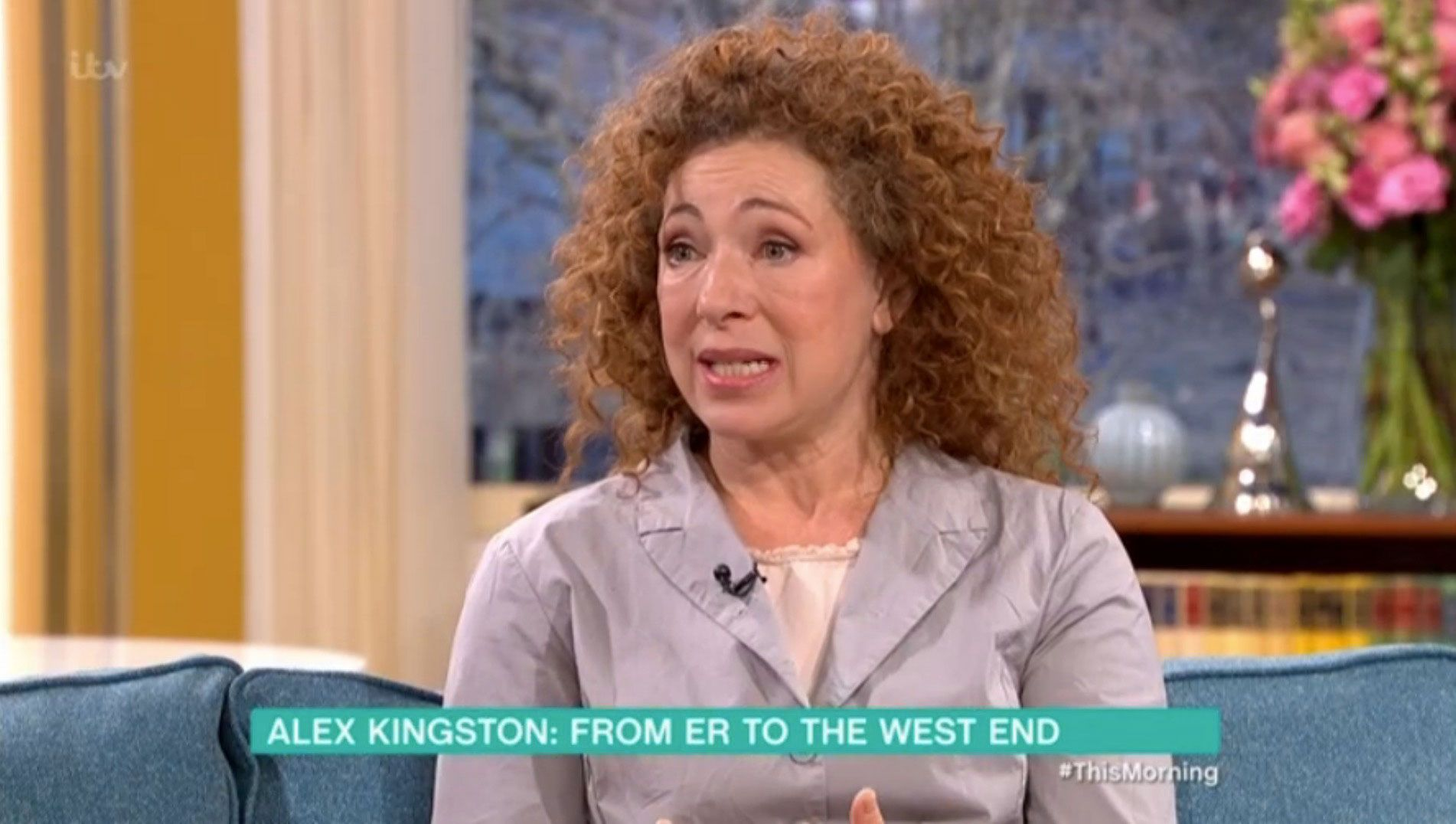 Alex Kingston ancestry
