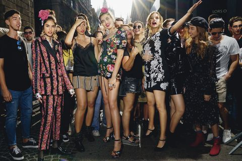 People, Event, Fashion, Crowd, Performance, Party, Photography, Fashion accessory, Stage, Fashion design,