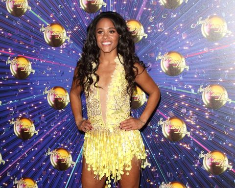 Alex Scott at the Strictly Come Dancing Launch at BBC...