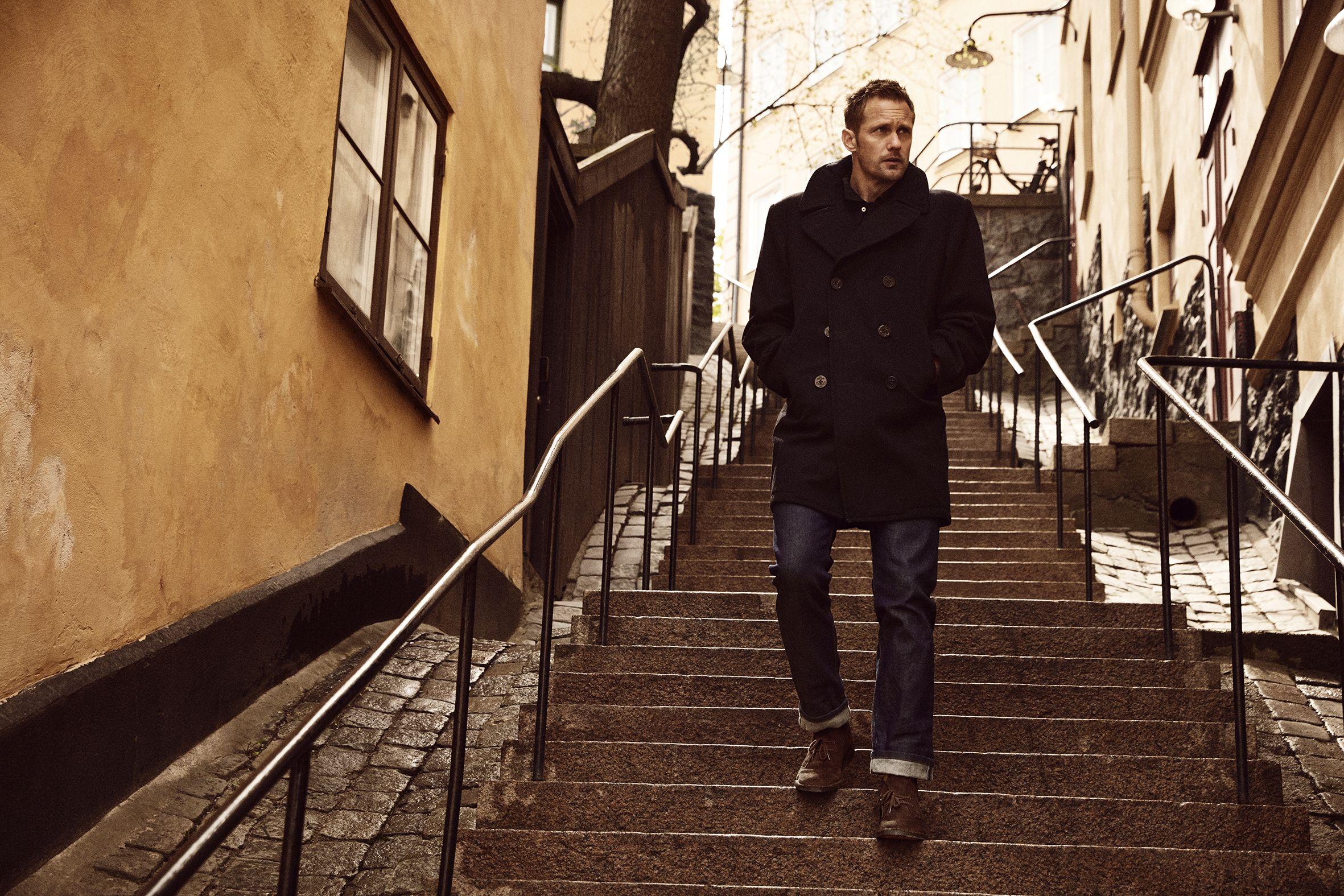 My Style Diary: Alexander Skarsgård's Guide To Timeless Menswear