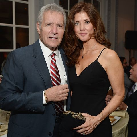Alex Trebek's Wife Opens Up About Finding Peace Amid the 'Jeopardy!' Host's Cancer Diagnosis