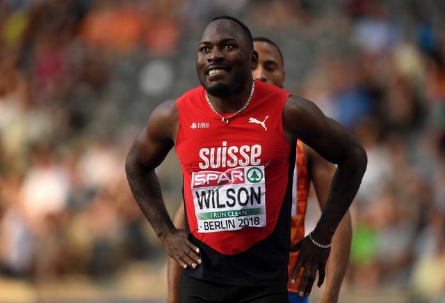 alex wilson, record de europa de los 100 metros lisos,