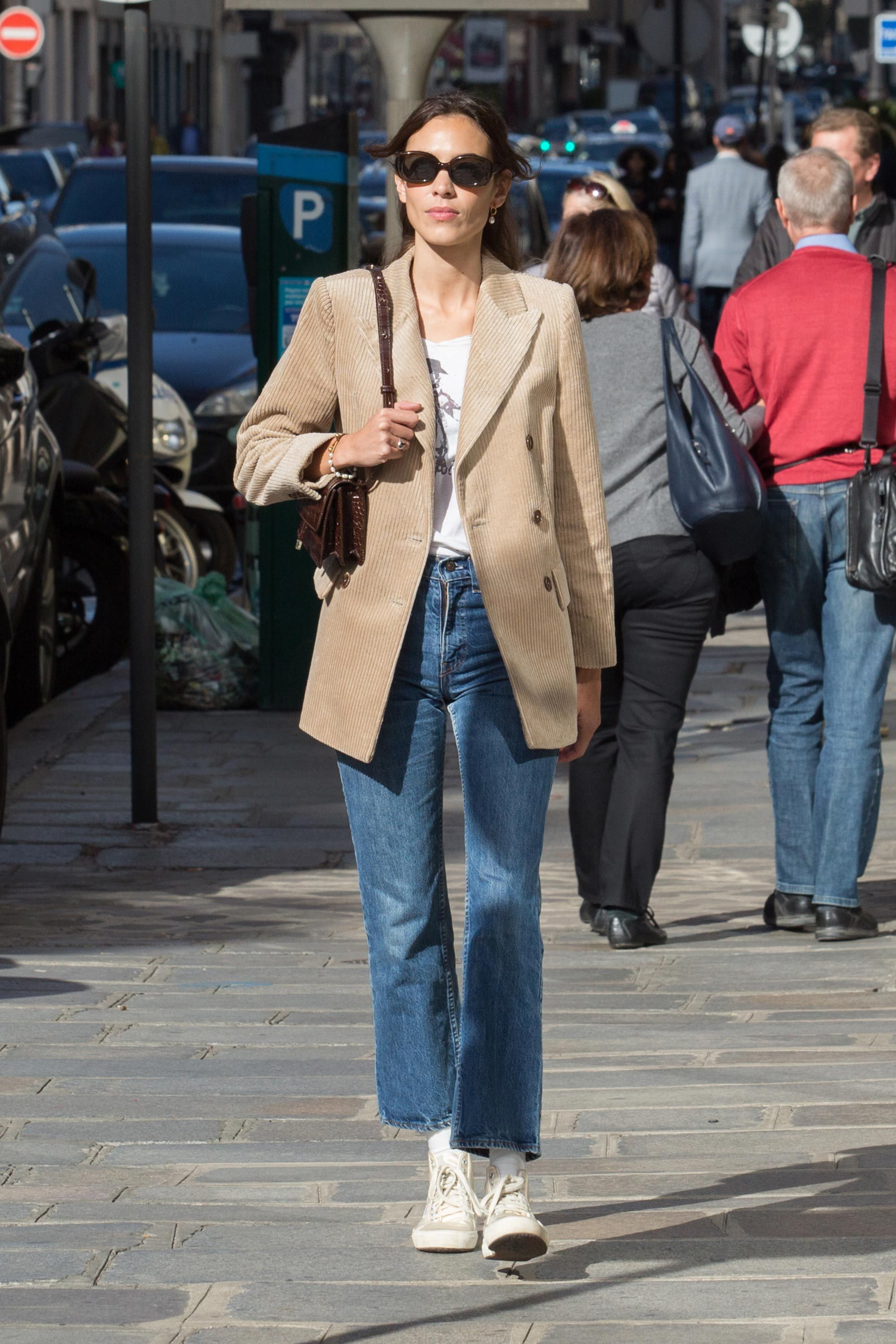 Alexa Chung at Paris Fashion Week
