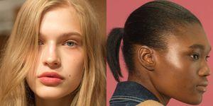 Alexa Chung spring/summer 2019 beauty trend - glowing skin, 'no make-up' make-up