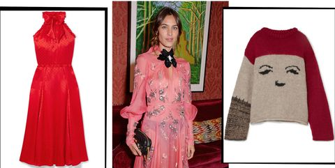 839d9adffeacb1 Alexa Chung's New Christmas Capsule Collection Is Here To Abate Your ...