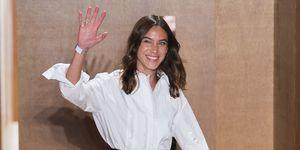 alexa-chung-eerste-show-londen-fashion-week