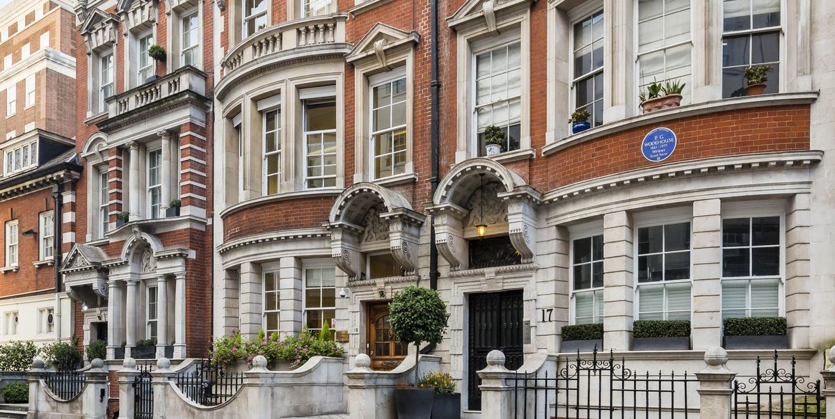Former Mayfair home of esteemed author, P.G. Wodehouse, is for sale