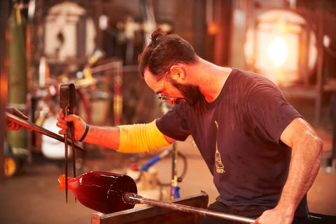Blown Away', Netflix's New Glassblowing Competition Show, is