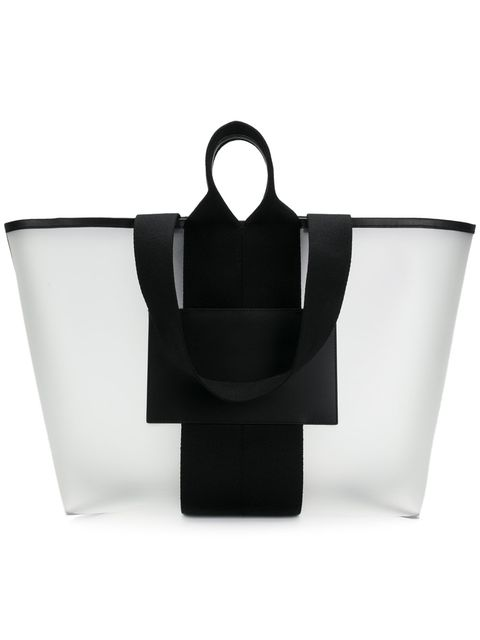 Bag, White, Black, Handbag, Product, Fashion accessory, Luggage and bags, Tote bag, Black-and-white, Leather,