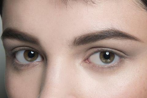 Eyebrow, Face, Forehead, Eye, Eyelash, Nose, Skin, Cheek, Close-up, Head,