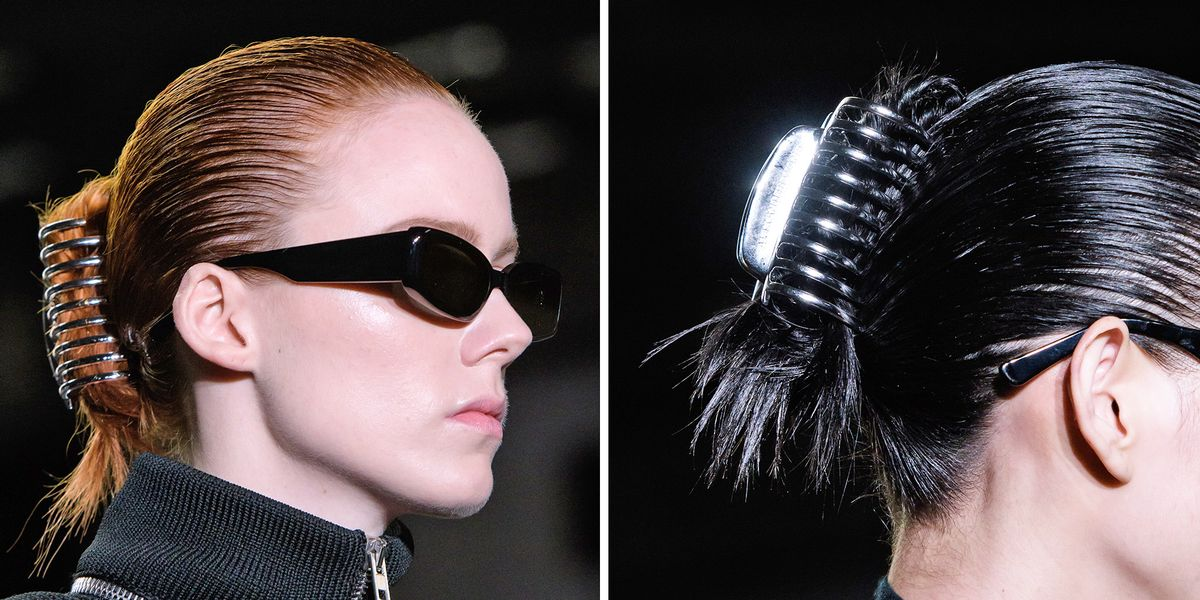 Alexander Wang Brought Old Claw Clips Back In Style At