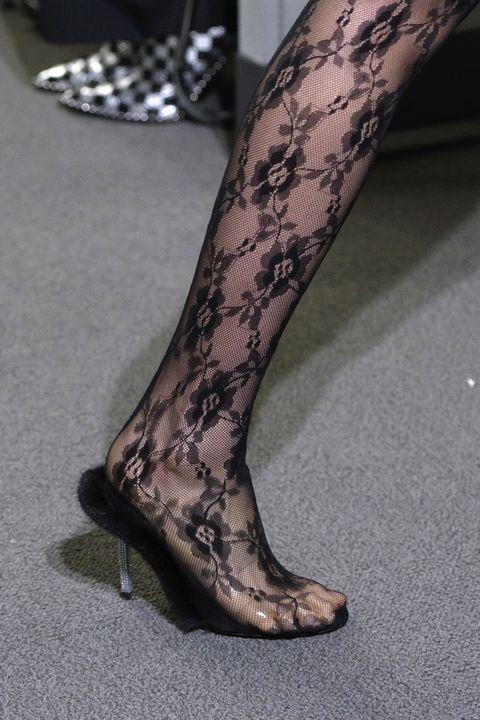Footwear, Human leg, Leg, Tights, High heels, Joint, Shoe, Pantyhose, Stocking, Calf,