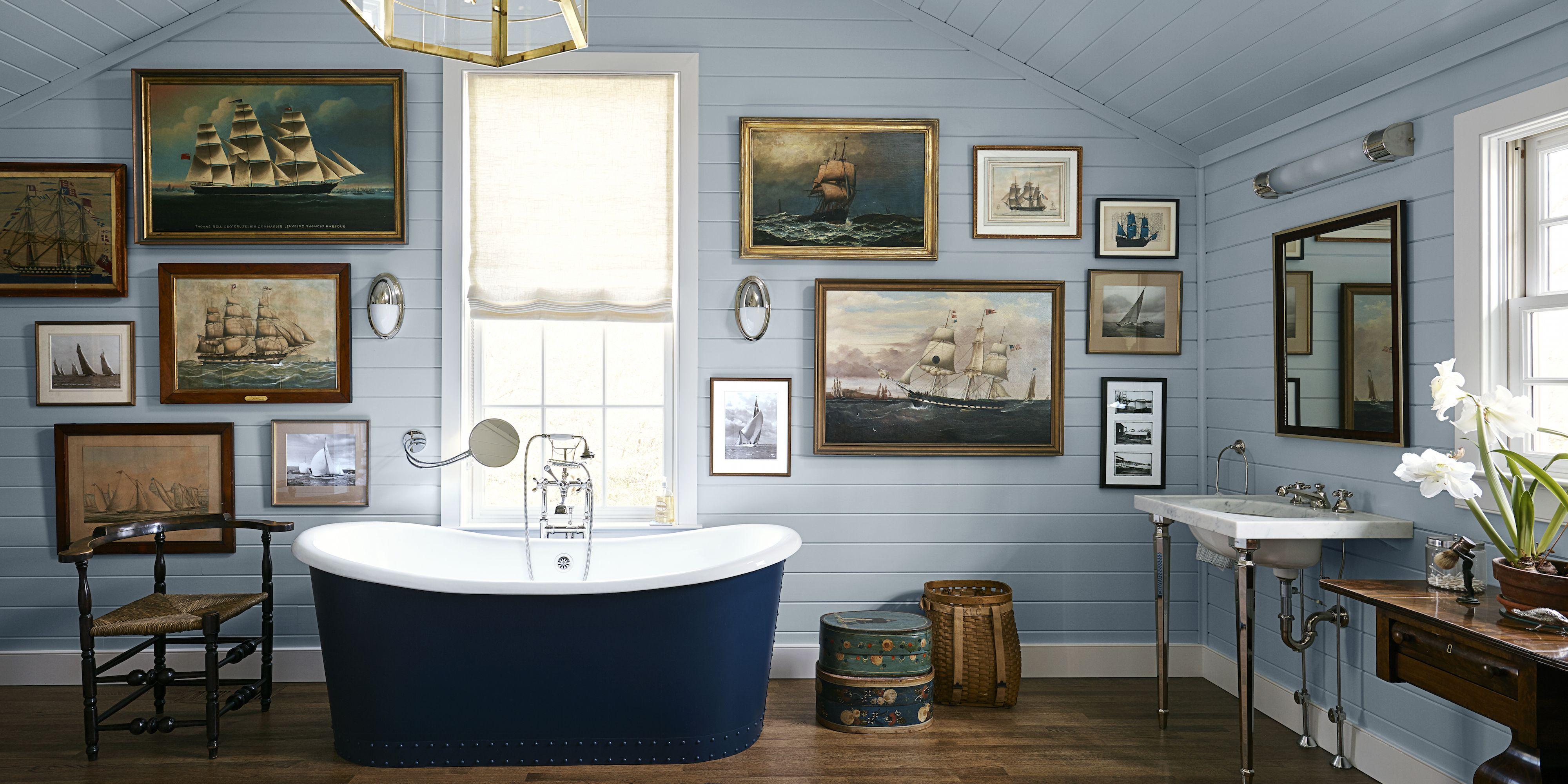 12 Blue Bathrooms ...