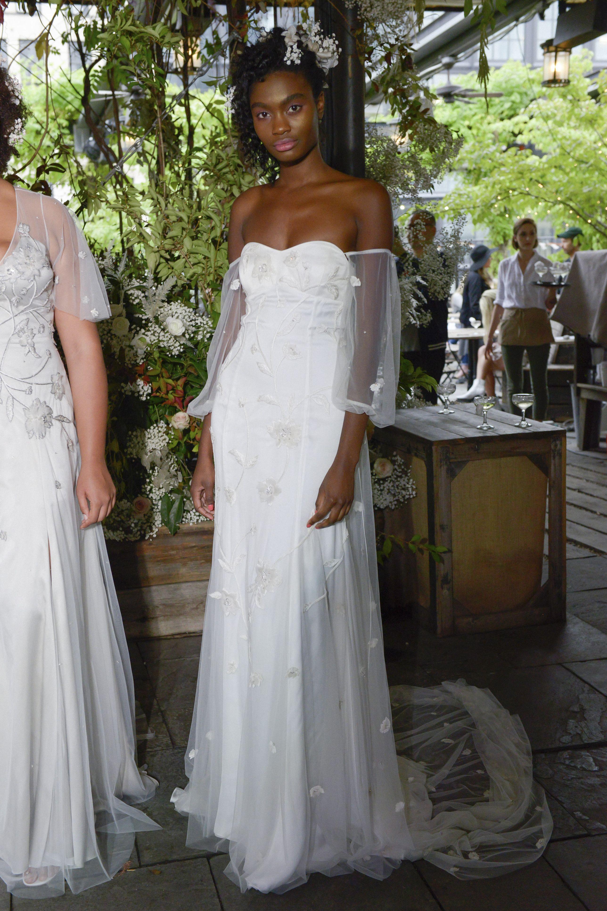 Mooiste Bruidsjurken.De Mooiste Bruidsjurken Van Bridal Week Herfst Winter 2019