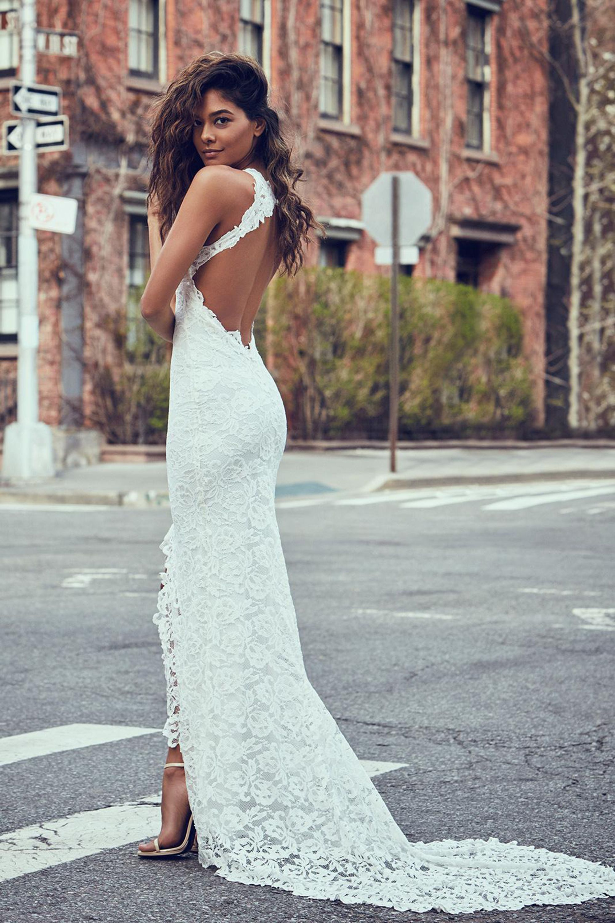The Naked Wedding Dress Is Officially A Trend