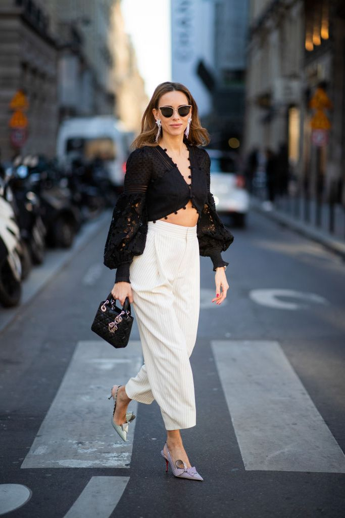 Street Style - Paris Fashion Week Womenswear Fall/Winter 2019/2020 : Day One