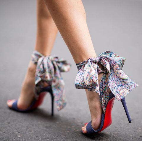 christian louboutin shoes heels red sole exhibition
