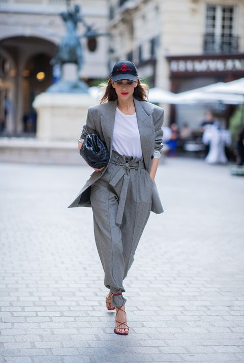 street style  paris fashion week   womenswear spring summer 2020  day one