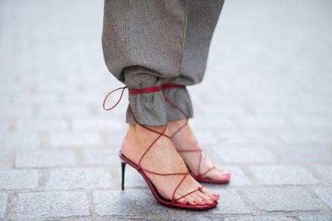 Street Style : Paris Fashion Week - Womenswear Spring Summer 2020 : Day One