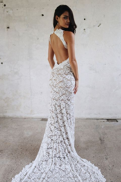 The naked wedding dress is officially a trend grace loves lace junglespirit Images