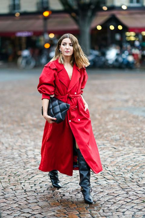 street style at paris fashion week   womenswear spring summer 2021  day two