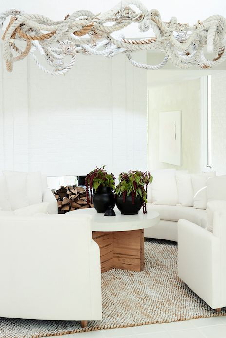white minimalist living room ideas