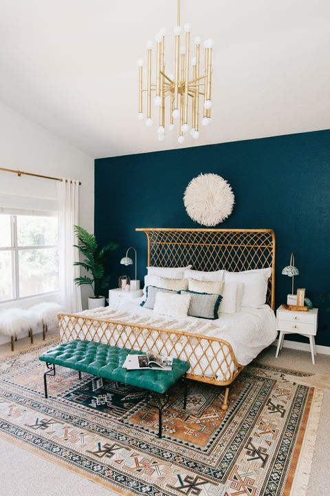 Navy Blue And Gold Decor