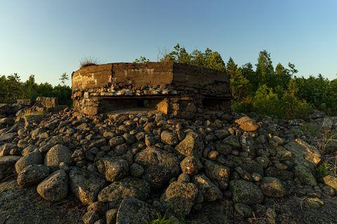 underground doomsday bunker