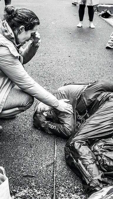 White, Black, Photograph, People, Black-and-white, Monochrome, Monochrome photography, Snapshot, Human, Street,