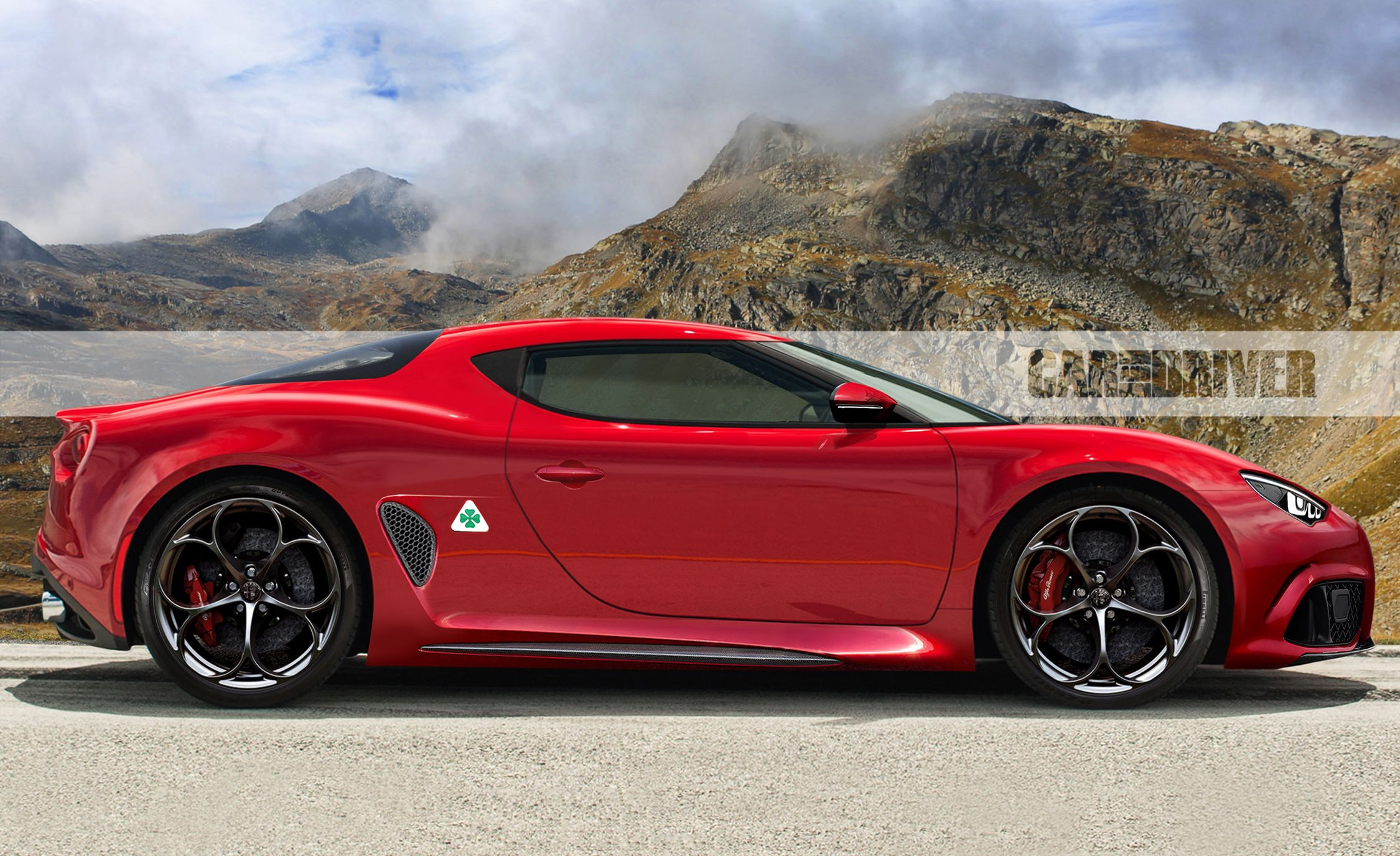 New Alfa Romeo >> 2022 Alfa Romeo 8c Coupe Rendered What We Know News Car And Driver