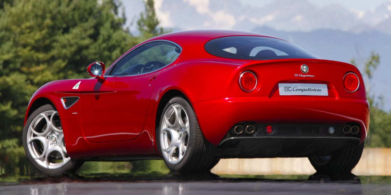 The Alfa Romeo 8C Competizione Is a Sensory Overload