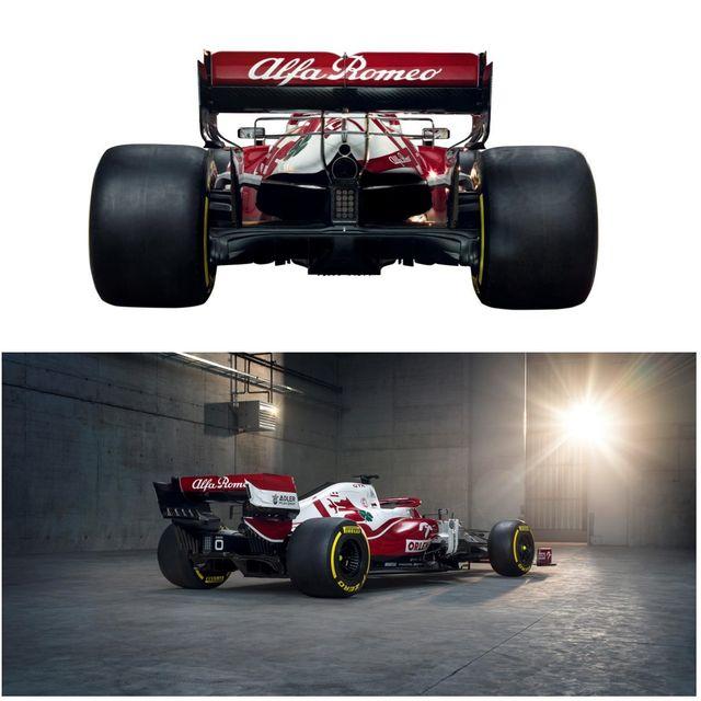 alfa romeo c41 de formula 1 para la temporada 2021