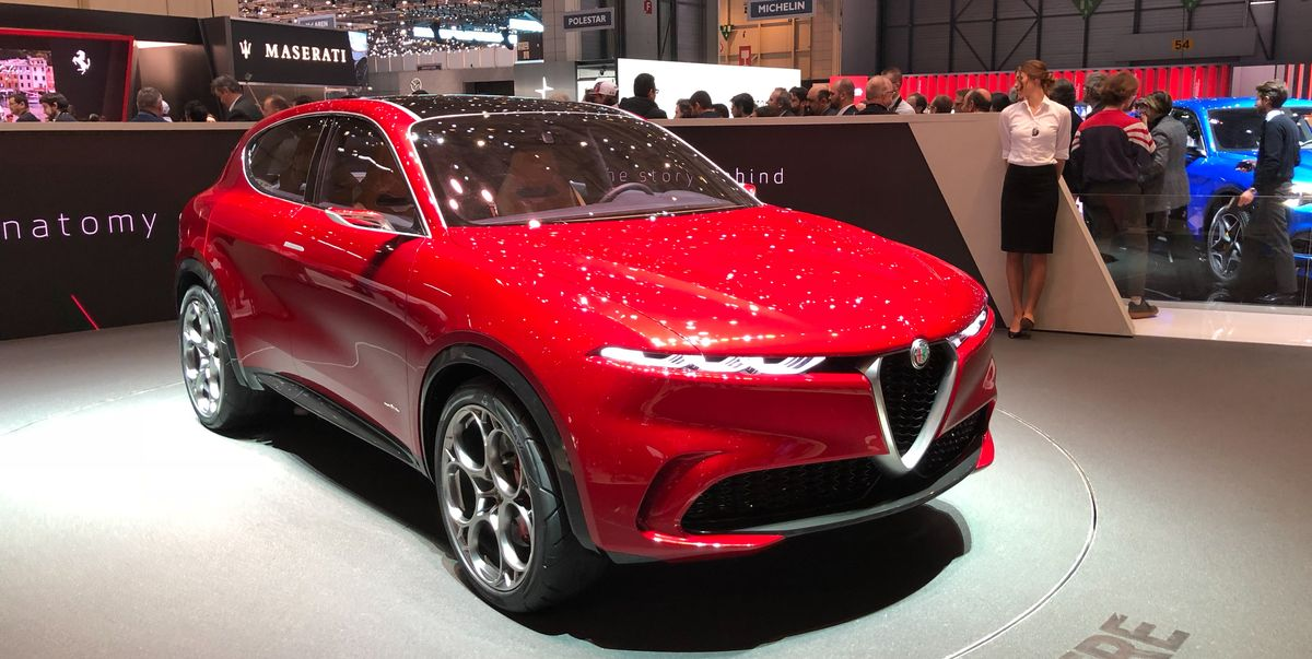 Alfa Romeo Tonale Concept – Preview of New Small SUV
