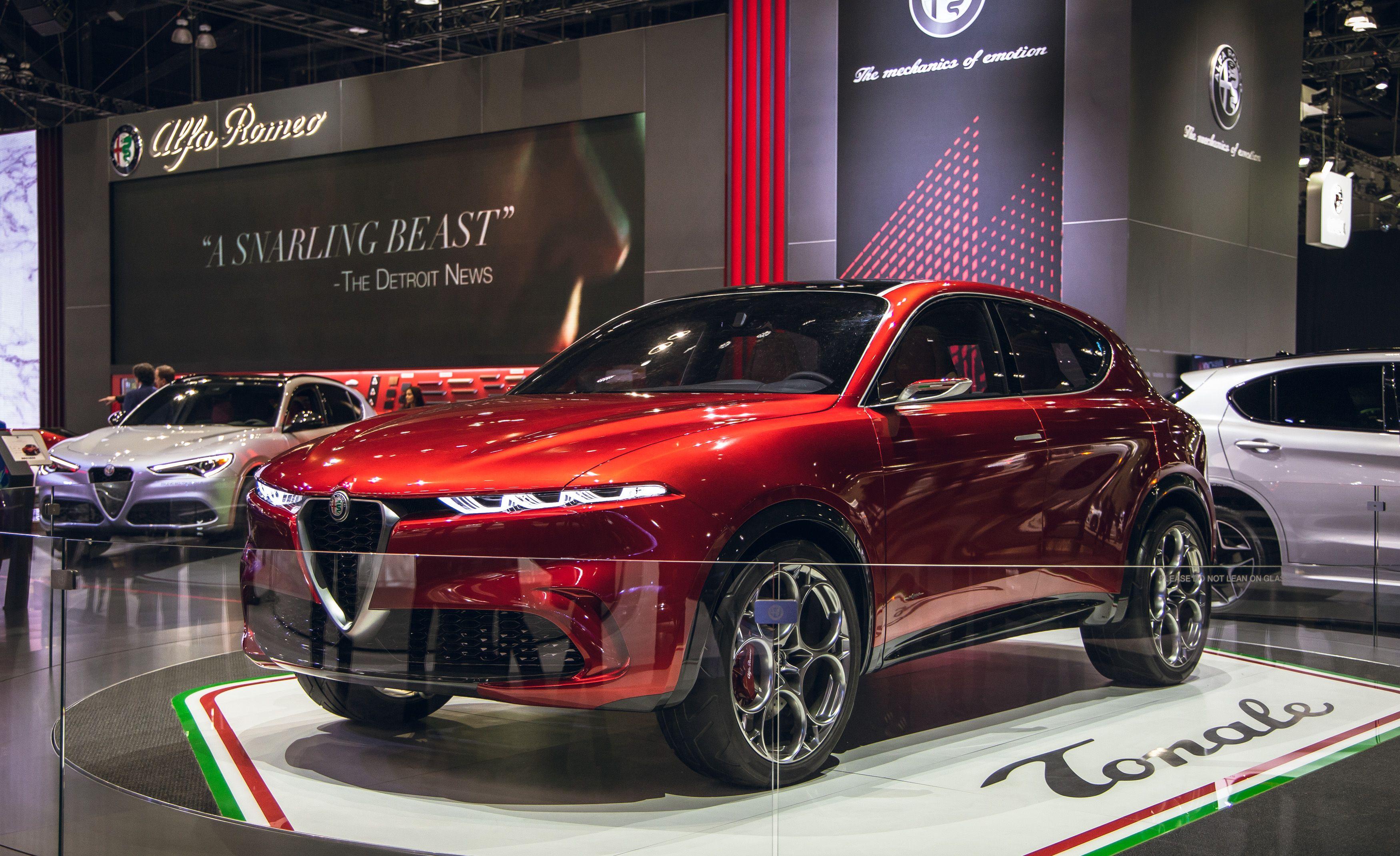 Alfa Romeo Tonale Concept Preview Of New Small Suv