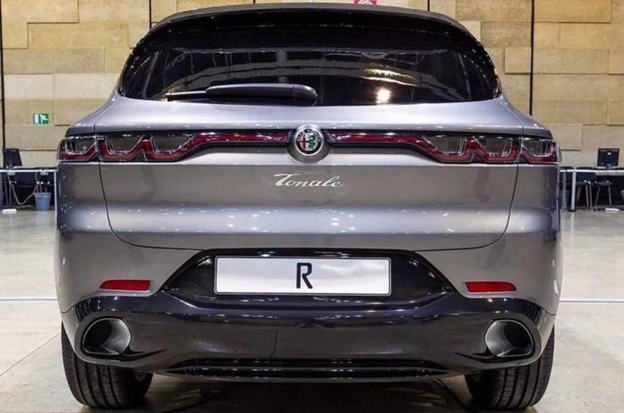Here's the Alfa Romeo Tonale SUV in Production Form