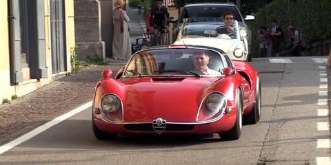 Land vehicle, Vehicle, Car, Sports car, Classic car, Coupé, Alfa romeo, Race car, Alfa romeo giulia tz, Supercar,